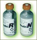 Two different kinds of insulin bottles should be distinguishable by more than 