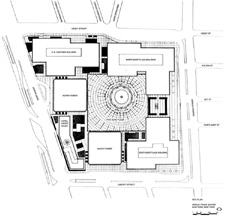 image of the WTC site plan