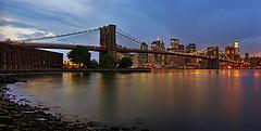 Brooklyn Bridge Panorama by Philipp Klinger