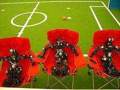 Photo: Relaxing Robots, MoonSoleil